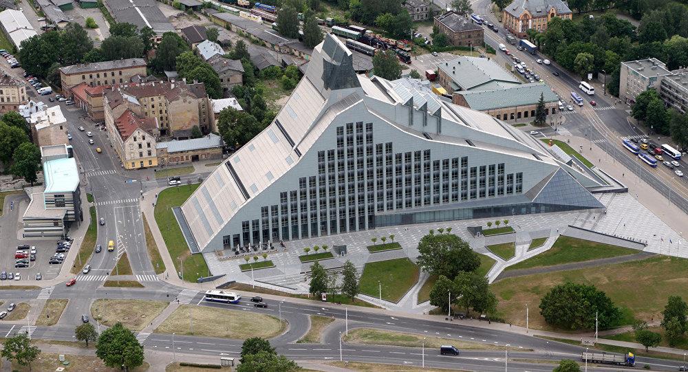 Замок света Латвийская национальная библиотека