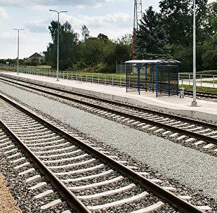 Rail Baltica. Foto no arhīva