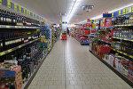 В гипермаркете Lidl, архивное фото