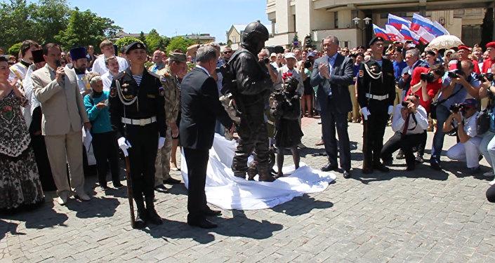 Krimā atklāts piemineklis pieklājīgajiem cilvēkiem