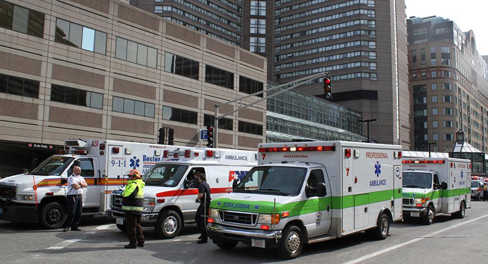 Ātrās palīdzības automašīnas ASV. Foto no arhīva