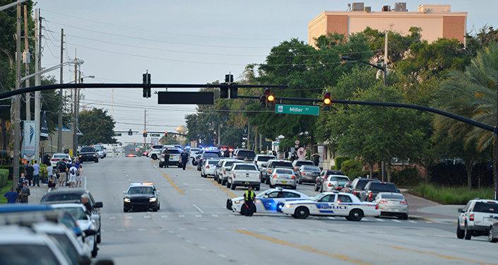 Policijas operācija Floridā. Foto no arhīva.