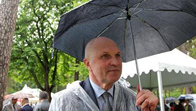 Владимир Соколов на приеме по случаю Дня России в резиденции посольства РФ в Юрмале