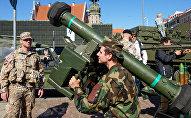 Военная техника армии США в Риге