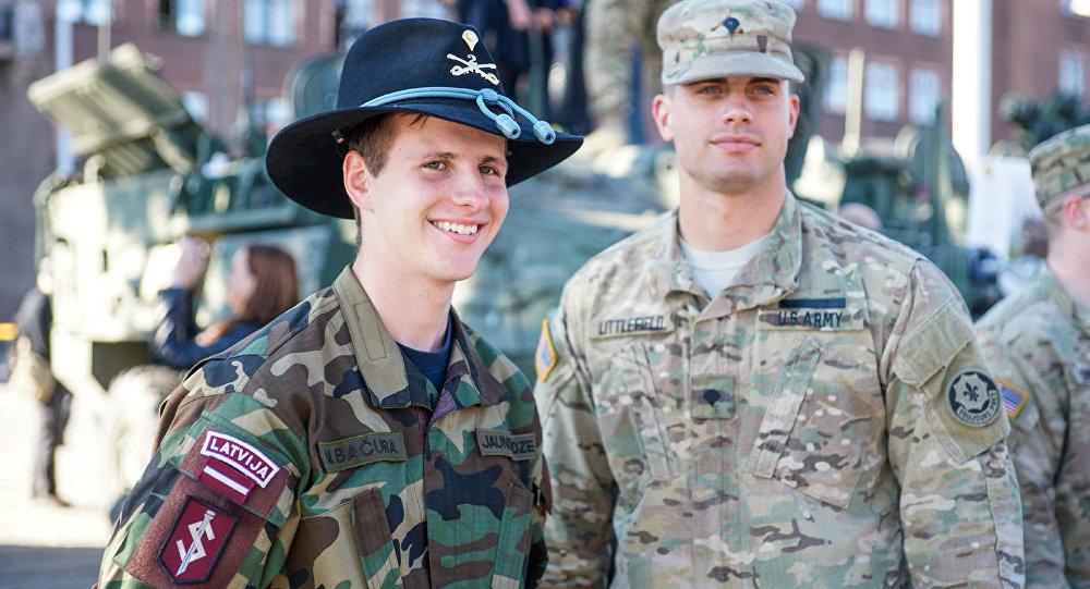 Karavīri. Foto no arhīva