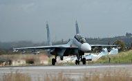 Aviācijas bāze Hmeimima Sīrijā. Foto no arhīva