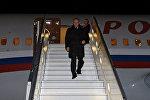 Архивное фото с рабочей поездки президента РФ В.Путина