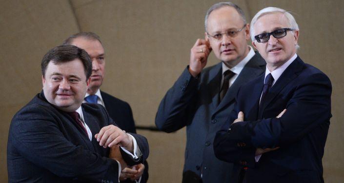 Krievijas Rūpniecības un uzņēmēju apvienības vadītājs Aleksandrs Šohins. Foto no arhīva