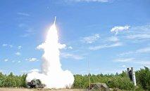 Pretgaisa aizsardzības spēku raķešu šaušanas mācības. Foto no arhīva