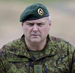Igaunijas Aizsardzības spēku komandieris Riho Terrass