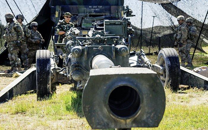 155-mm haubice M777