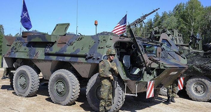 Военнослужащие армии США на учениях. Архивное фото