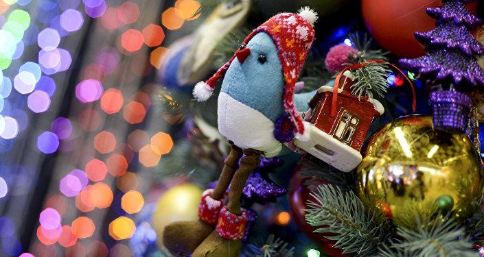 Ziemassvētku dāvanas. Foto no arhīva