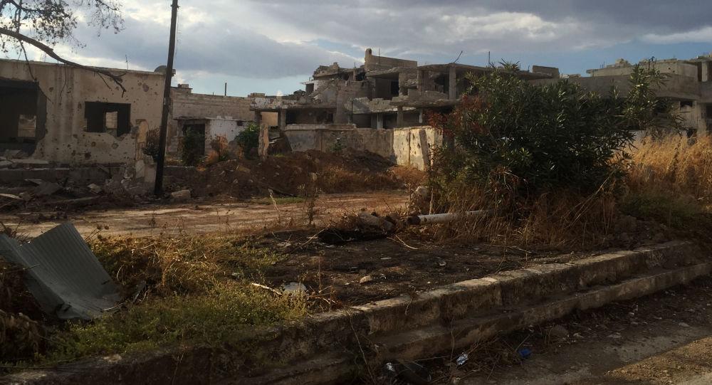 Село в сирийской провинции Хама. Архивное фото
