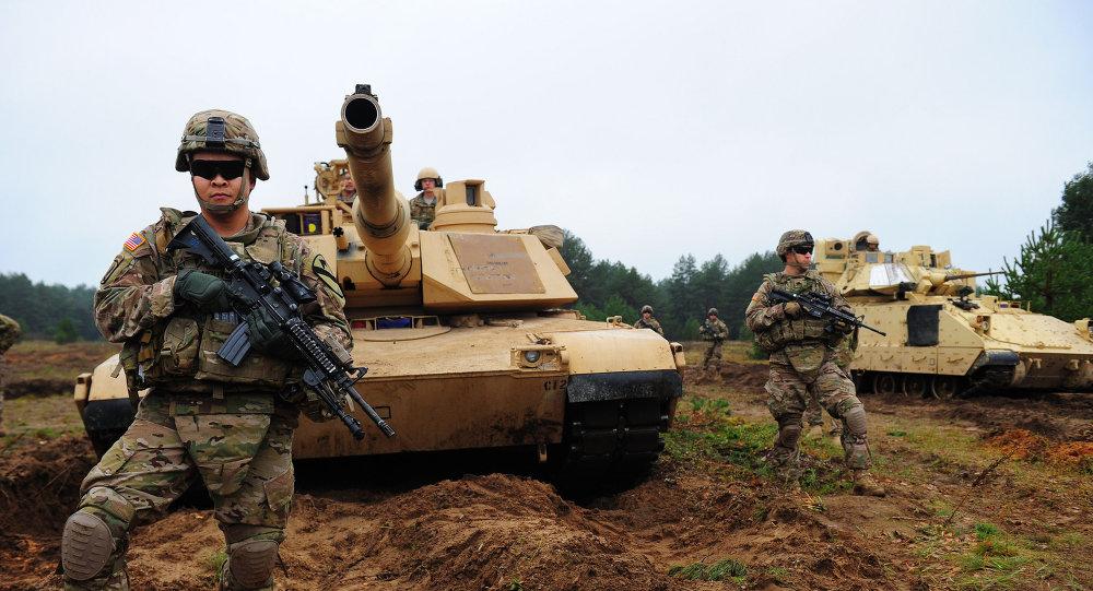 Солдаты НАТО на базе в Адажи. Архивное фото