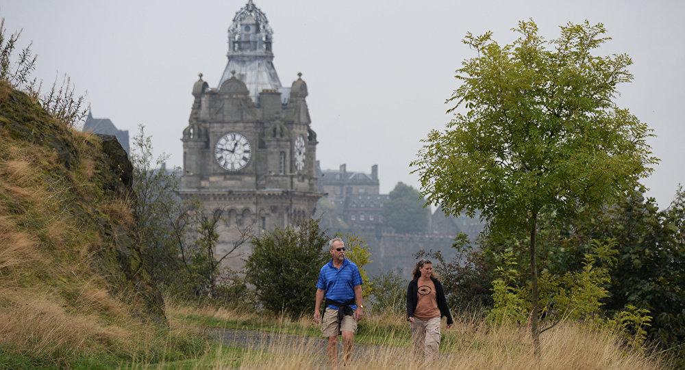 Города мира. Эдинбург. Архивное фото