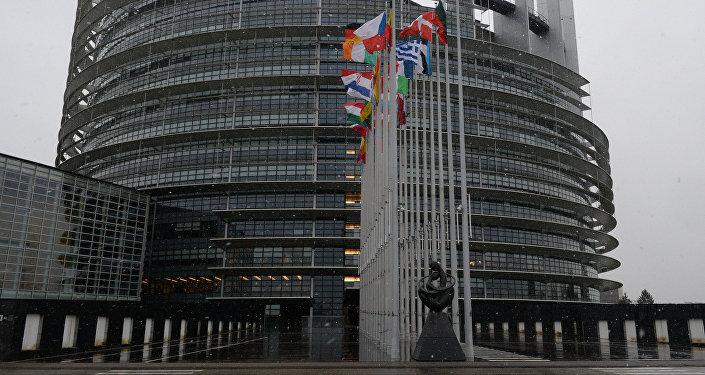 Здание Европарламента. Архивное фото
