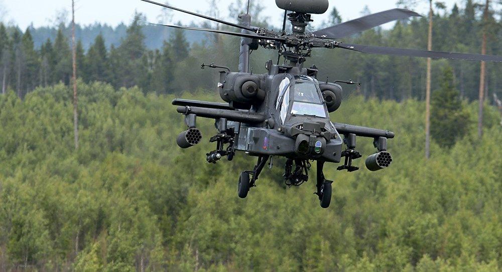Galvenais uzbrukuma helikopters McDonnell Douglas AH-64 Apache