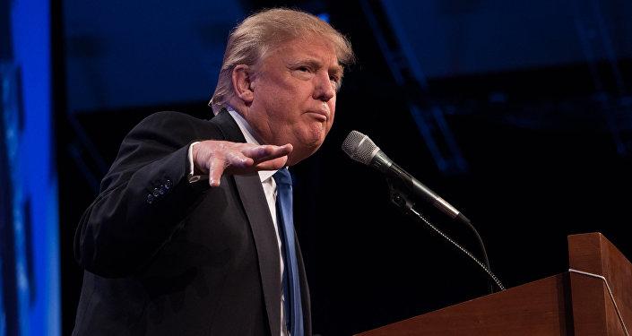 ASV prezidenta posteņa kandidāts Donalds Tramps. Foto no arhīva
