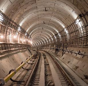 Maskavas metropolitēna tunelis