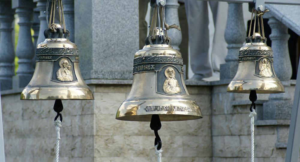 Колокола перед освящением на церковь Святого Григория Просветителя