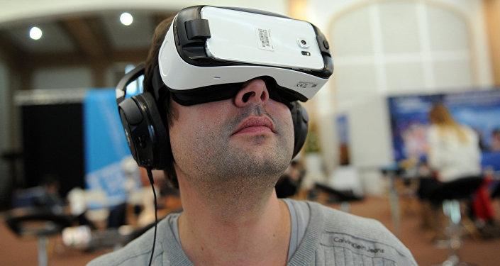 В очках виртуальной реальности
