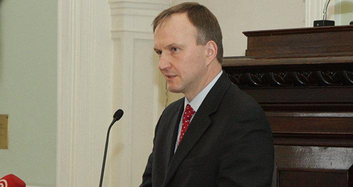 Latvijas Ārlietu ministrijas valsts sekretārs Andrejs Pildegovičs. Foto no arhīva