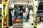 Новые машины неотложной помощи в Латвии, архивное фото