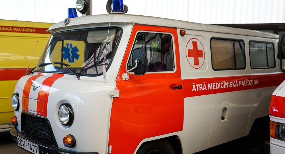Машина неотложной помощи в Латвии