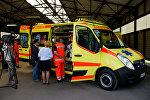Новые машины неотложной помощи в Латвии