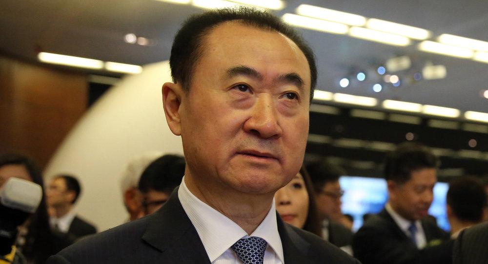 Ван Цзяньлинь, глава китайской Dalian Wanda Group. Архивное фото