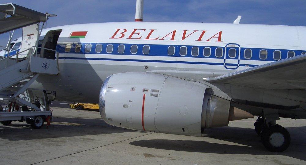 Самолет компании Белавиа, архивное фото