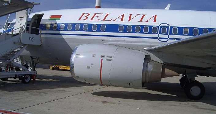 Kompānijas Belavia lidmašīna