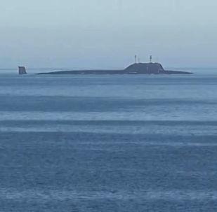 Atomzemūdene Ziemeļu flotes akvatorijā
