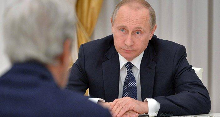 Krievijas prezidenta V.Putina tikšanās ar ASV valsts sekretāru Džonu Keriju