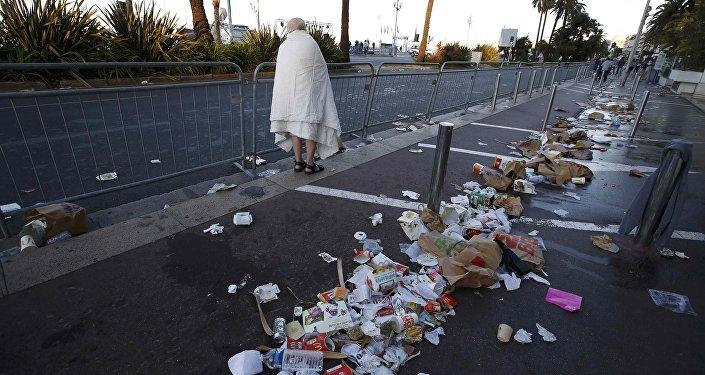 На следующий день после теракта