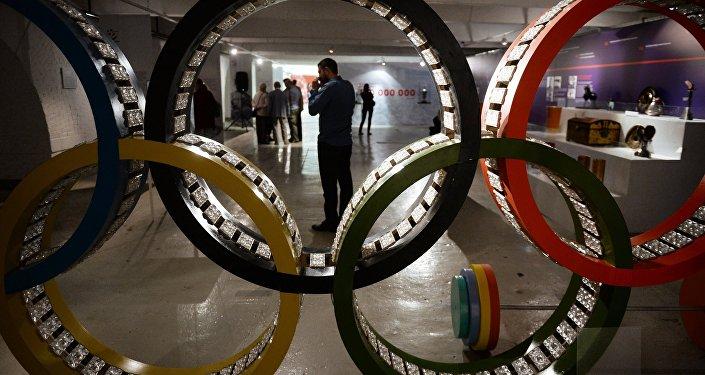 Olimpiskie apļi. Foto no arhīva.
