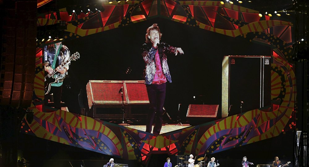 Rolling Stones. Foto no arhīva