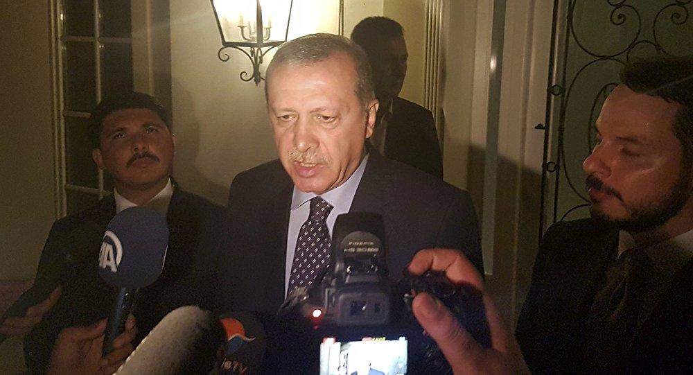 Turcijas prezidents Redžeps Tajips Erdogans