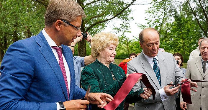 Открытие аллеи имени Валентина Пикуля в Болдерае