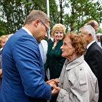 Rīgā atklāta Pikuļa vārdā nosauktā aleja
