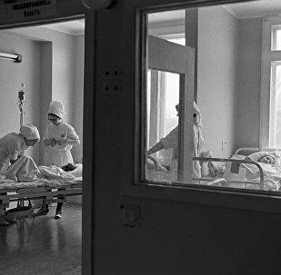 Palāta slimnīcā. Foto no arhīva.