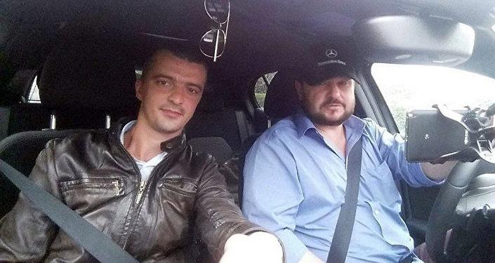 Алексей Стетюха и Валентин Роженцов