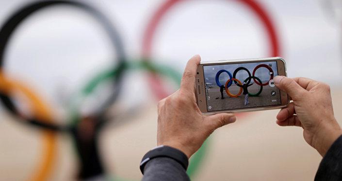 Olimpiskie apļi RIO. Foto no arhīva.