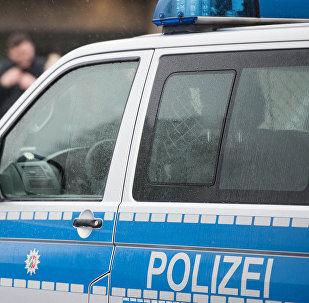 Vācijas policijas automobilis