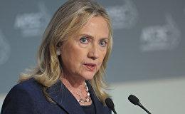 Хиллари Клинтон, кандидат на пост президента США