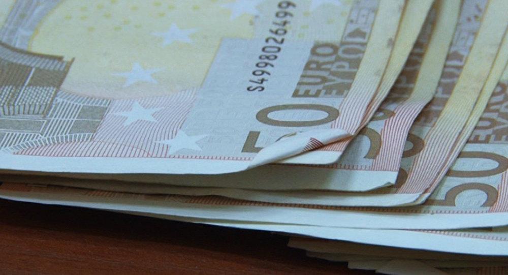 Купюры евро. Архивное фото