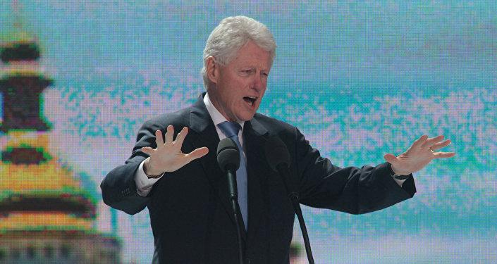 ASV eksprezidents Bils Klintons. Foto no arhīva
