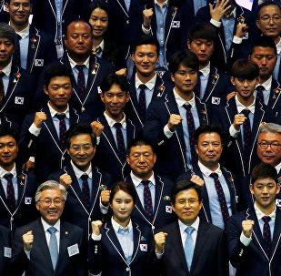 Олимпийская форма сборной Южной Кореи для ОИ в Рио
