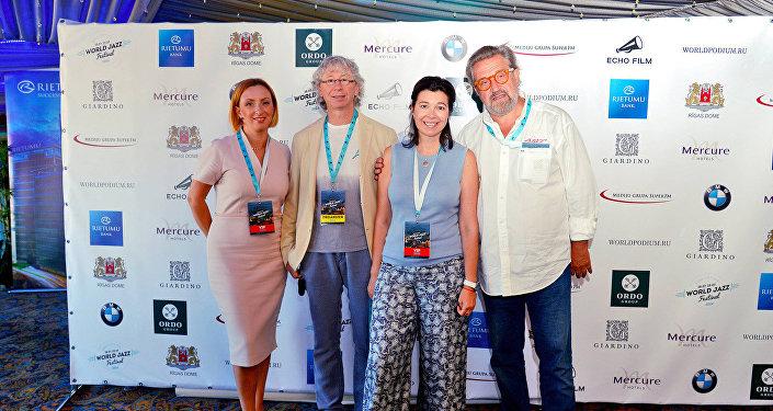 Пресс-конференция в рамках фестиваля джазовой музыки в Риге